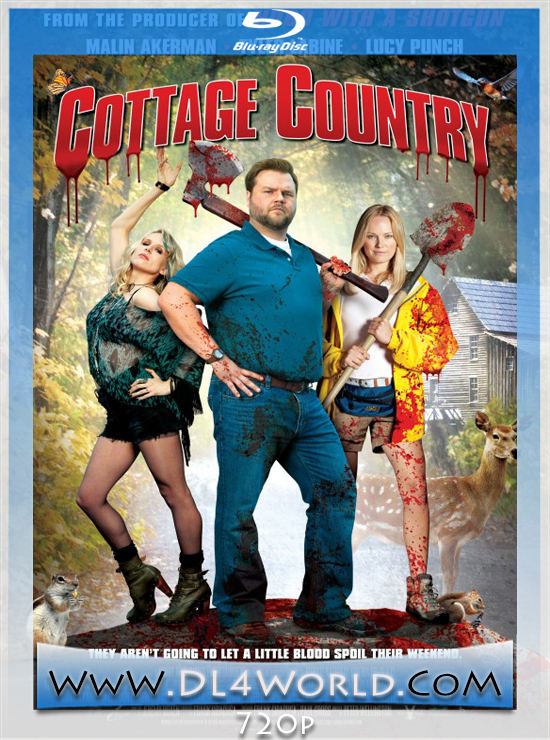 Cottage Country (2013) 720p BluRay _DL4World_Poster